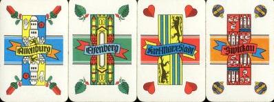 Skatkarten Deutsches Blatt
